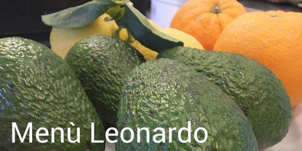Menù Leonardo